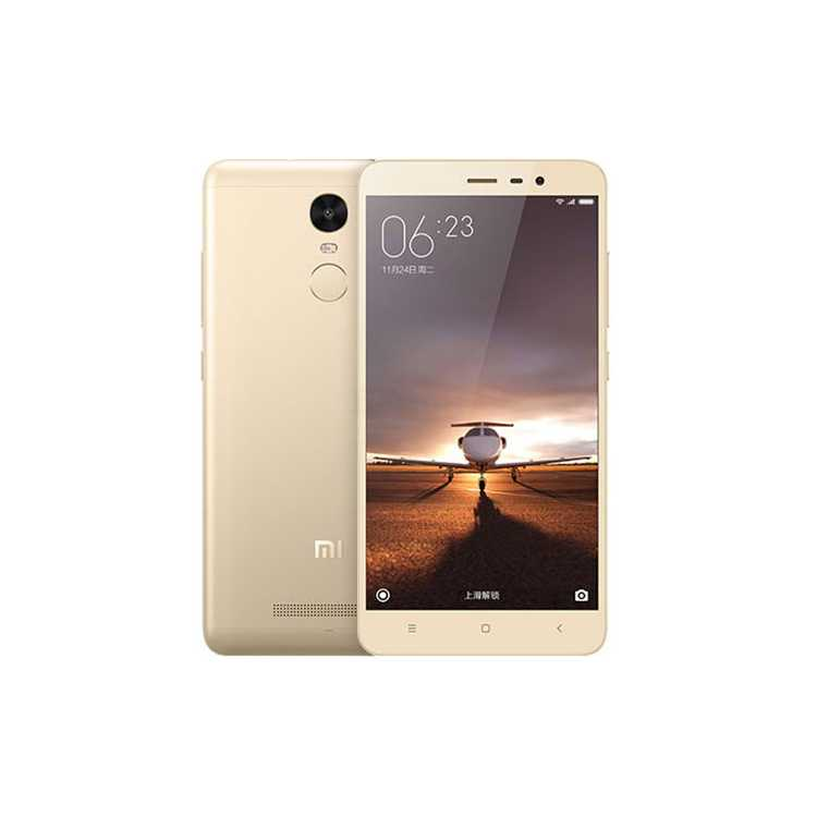 Xiaomi Redmi Note 3 16Gb Золотой