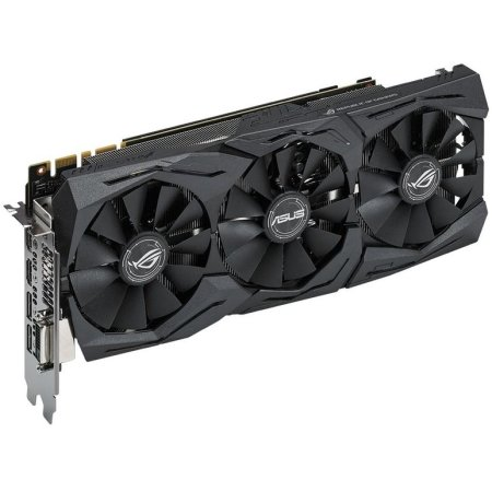 Asus NVIDIA GeForce GTX 1070 STRIX OC GAMING 8192Мб, GDDR5,1657MHz, STRIX-GTX1070-O8G-GAMING GTX 1070 STRIX OC GAMING - 8192Мб, GDDR5,1657MHz, STRIX-GTX1070-O8G-GAMING