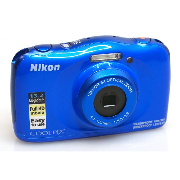 Nikon Coolpix W100 Синий VQA011K001