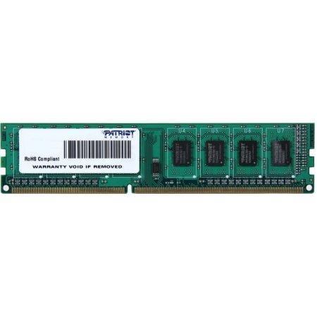 Patriot Memory PSD34G16002 DDR3, 4Гб, PC3-12800, 1600, DIMM