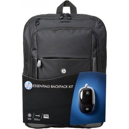 """HP Case Essentials Backpack 10-15.6 15.6"""", Черный, Нейлон, Искусственная кожа"""