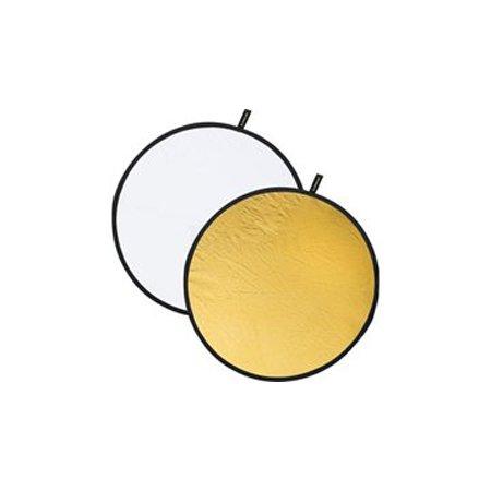 Отражатель круглый золотой - белый 107 см CFR-42G