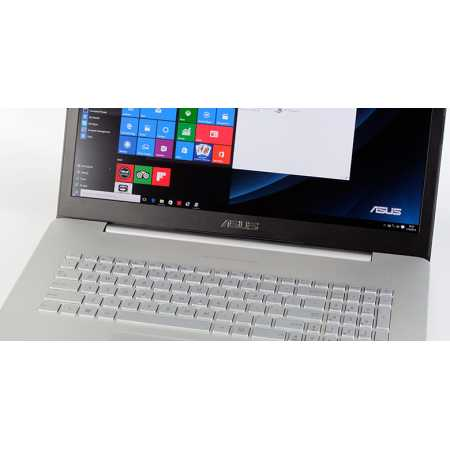"Asus N752VX-GC272T 17.3"", Intel Core i7, 2600МГц, 16Гб RAM, 1256Гб, Серебристый, Windows 10 Home"