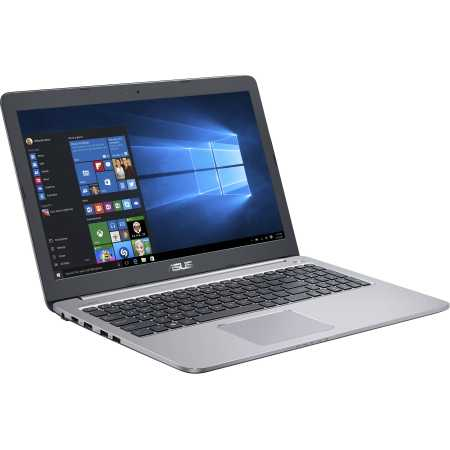 "Asus K501UX-FI074T 15.6"", Intel Core i7, 2500МГц, 8Гб RAM, DVD нет, 1Тб, Серебристый, Wi-Fi, Windows 10, Bluetooth"