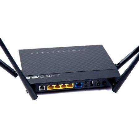 Asus DSL-AC52U Черный, 733Мбит/с, 5, 2.4