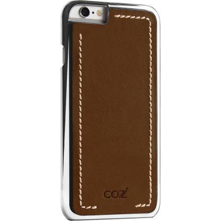 Cozistyle CLCC6012 для iPhone 6s Темно-коричневый/Серебристый