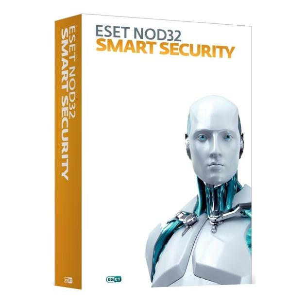 Eset NOD32 Smart Security 1 год, 3, Карта, Установкапродление