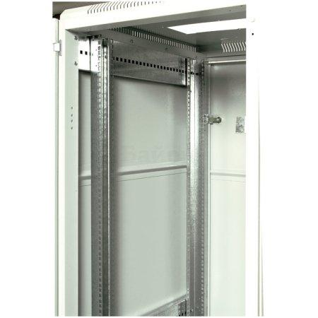 ЦМО Шкаф телекоммуникационный напольный 42U (600x1000) дверь стекло (3 места), [ ШТК-М-42.6.10-1ААА ]