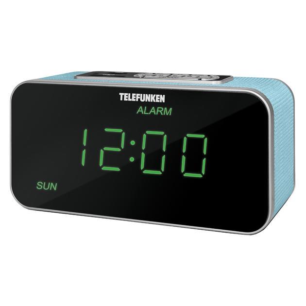 TELEFUNKEN TF-1503U Наличие FM, Голубой, Наличие УКВ TF-1503U(БОРДО С ЗЕЛЕНЫМ)