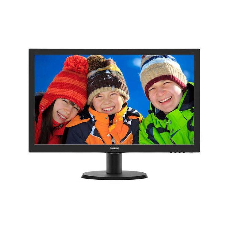 "Philips 243V5LHAB5 Встроенные колонки, VGA, 23.6"", DVI, HDMI, Full HD"