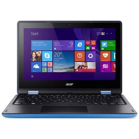 "Acer Aspire R3-131T-C08E 11.6"", Intel Celeron, 1600МГц, 2Гб RAM, DVD нет, 32Гб, Синий, Wi-Fi, Windows 10, Bluetooth"