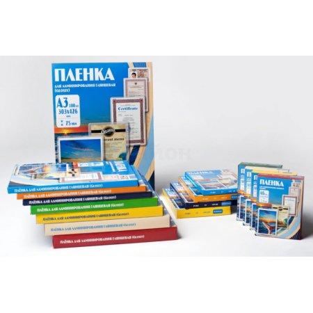 Пленка для ламинирования Office Kit 150мкм A4 (100шт) глянцевая 216x303мм PLP11223-1