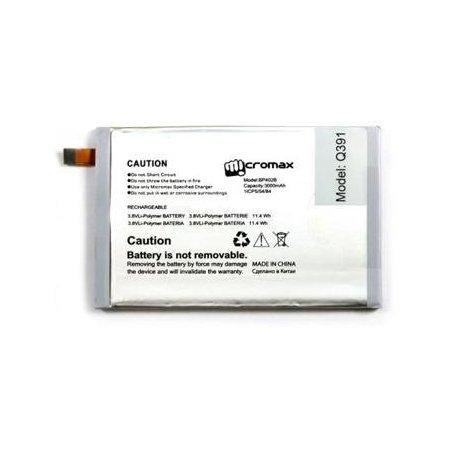 Аккумулятор для Micromax Q391 Черный, 3000мАч