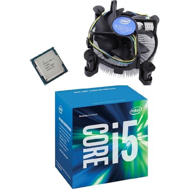 Intel Core i5-6400 4 ядра, 2700МГц, Box