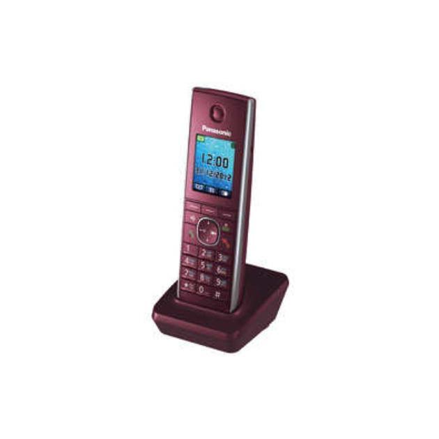 Трубка доп. Dect Panasonic KX-TGA855RUR красный для KX-TG8551/8561/8552/8562 от Байон