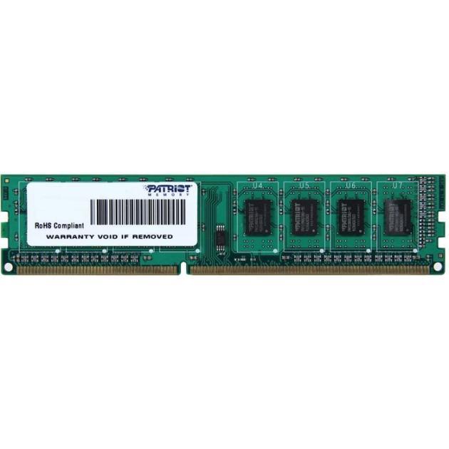 Patriot Memory PSD34G16002 4, PC3-12800, 1600, DIMM