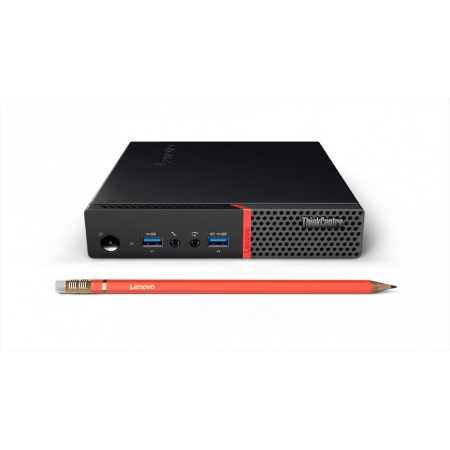 Lenovo ThinkCentre M700 Tiny Intel Core i5, 2500МГц, 4Гб RAM, 1000Гб, Win 10, Черный