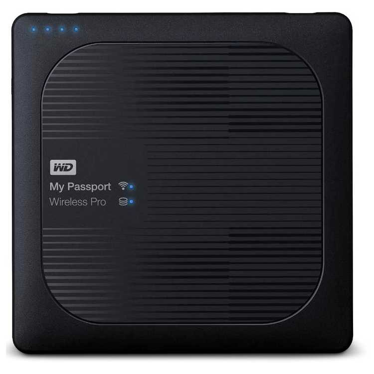 Western Digital My Passport Wireless Pro 2000Гб