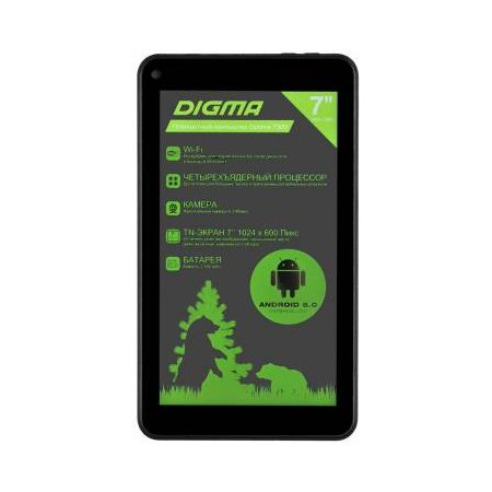 Digma Optima 7300 Wi-Fi, Черный, 8Гб