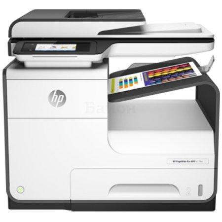 HP PageWide 377dw Лазерный \ светодиодный, Белый, Цветная, А4