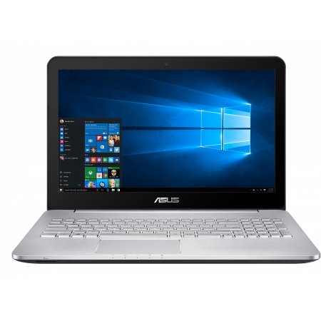 "Asus N552VW-FI191T 15.6"", Intel Core i7, 2600МГц, 8Гб RAM, Blu-Ray, 1Тб, Серебристый, Wi-Fi, Windows 10, Bluetooth"