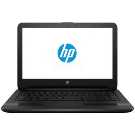 "HP 14-am006ur 14"", Intel Celeron, 1600МГц, 2Гб RAM, DVD нет, 32Гб, Черный, Wi-Fi, Windows 10, Bluetooth"
