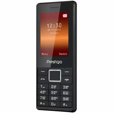 Prestigio 1241 DS Черный, 0.032Гб, 2 SIM