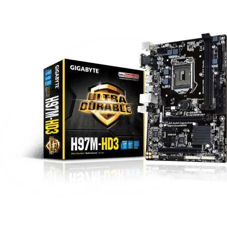 GigaByte GA-H97M-HD3 V1.1 mATX