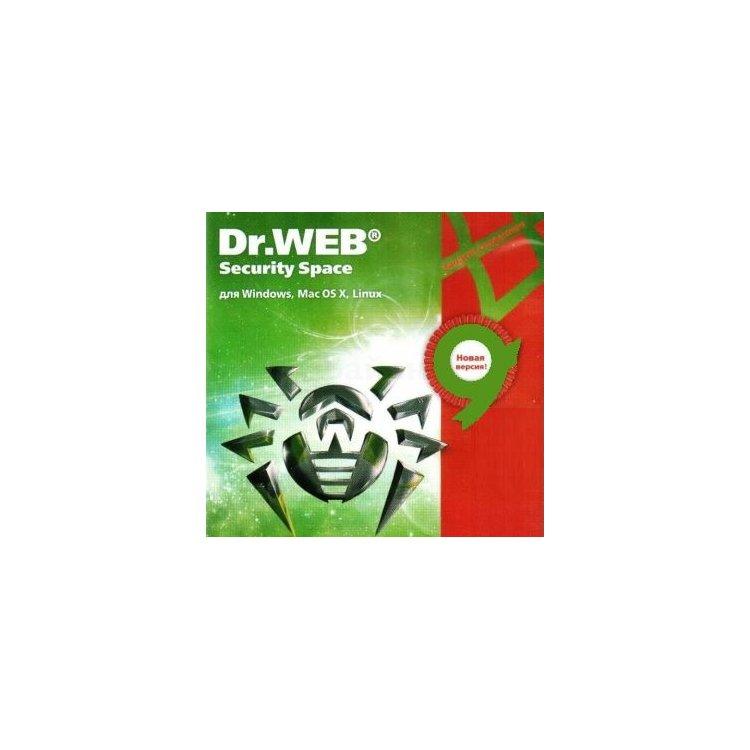 Купить Dr.Web Security Space, КЗ в интернет магазине бытовой техники и электроники