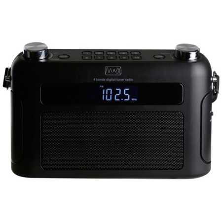 MAX МR-310T Наличие FM, Черный