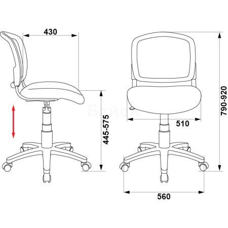Кресло Бюрократ CH-296NX/TATTOO спинка сетка черный сиденье черный черепа Tattoo
