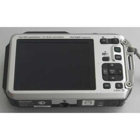 Panasonic Lumix DMC-FT5 Стальной, 16.1