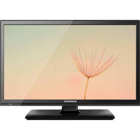 "Thomson T19E20DH-01B 19"", Черный, 1366x768, без Wi-Fi, Вход HDMI"