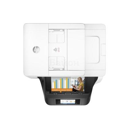 HP OfficeJet Pro 8730 Струйный, Белый, Цветная, А4