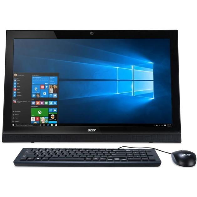 Acer Aspire Z1-623 Черный, 4Гб, 1000Гб, Windows 10, Intel Core i3, GF GT940M 2GB