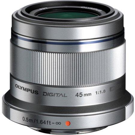 Olympus M.Zuiko Digital 45мм f/1.8 Стандартный