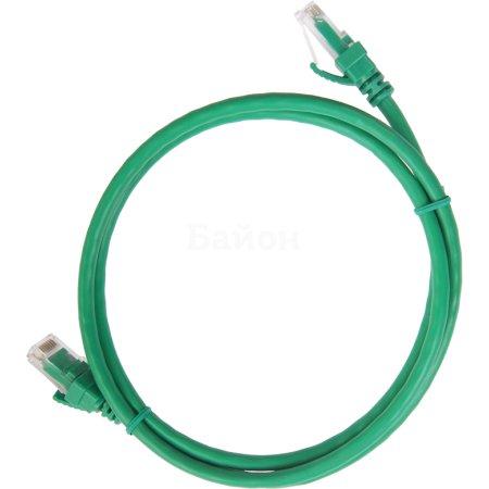 IEK ITK Коммутационный шнур (патч-корд), кат.5Е UTP, 3м, зеленый