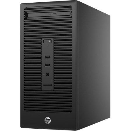 HP Bundle 280 G2 MT Intel Core i3, 3700МГц, 4Гб, 500Гб, Win 10, Черный
