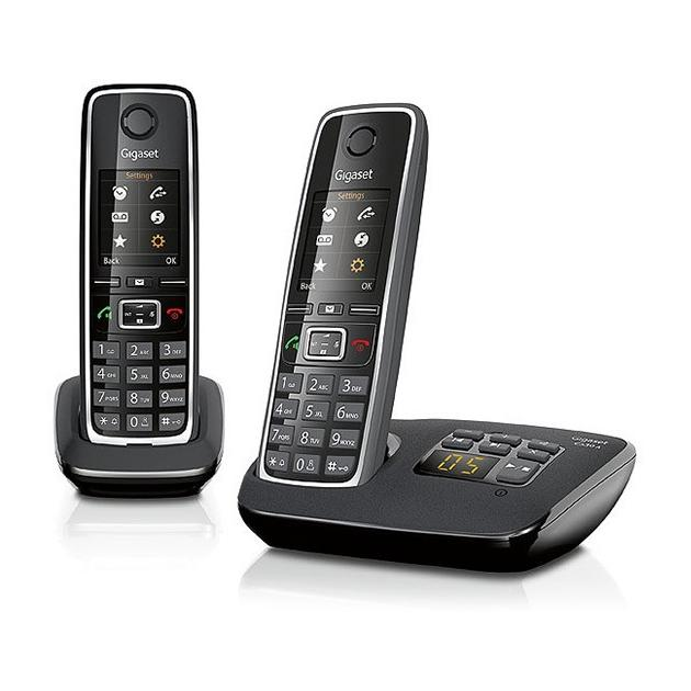 Gigaset C530A Duo 1, 6, Черный, Дисплей C530AMDUO