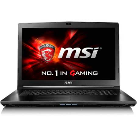"MSI GL72 6QD-007XRU 17.3"", Intel Core i5, 2300МГц, 8Гб RAM, 1Тб, DOS, Черный, Wi-Fi, Bluetooth"