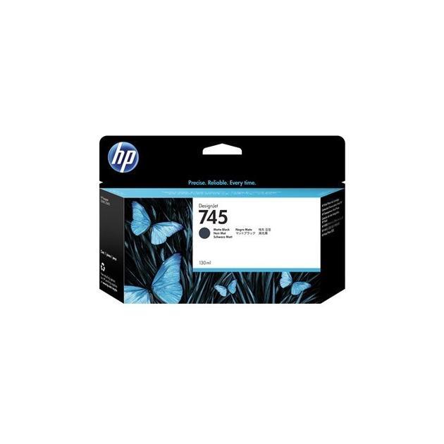 HP 745 Черный матовый, Картридж струйный, Стандартная, нет