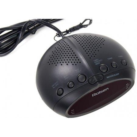 Rolsen CR-230 Наличие FM, Черный