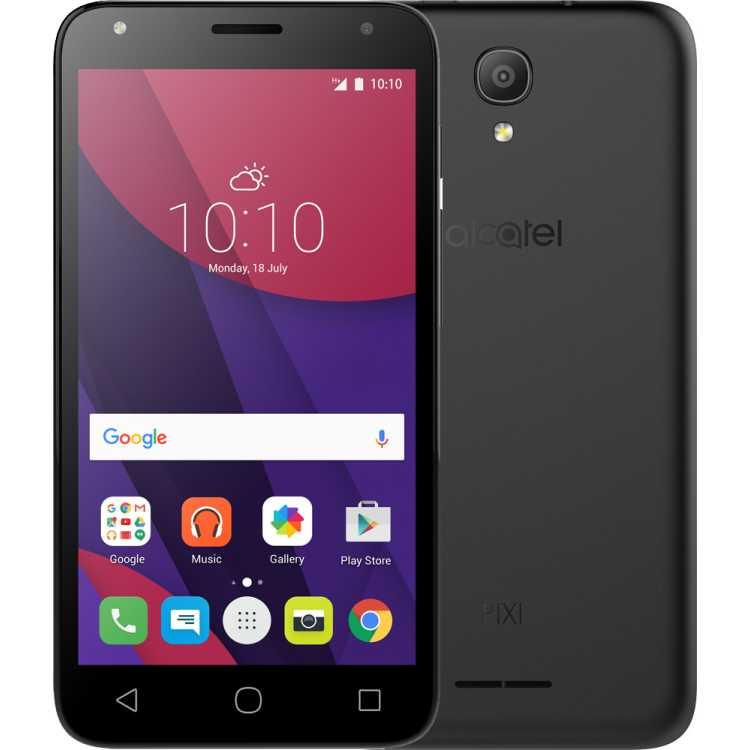 Alcatel One Touch Pixi 4 5010D Черный