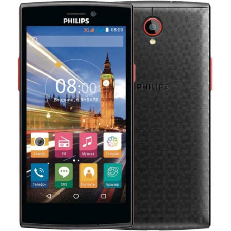 Philips S337 8Гб, Черный, Dual SIM, 3G