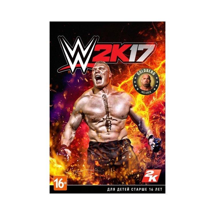 WWE 2K17 PC, стандартное издание, цифровой код, Английский язык