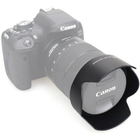 JJC LH-73D для CANON EF-S 67, Бленда, Для зеркальных и системных камер