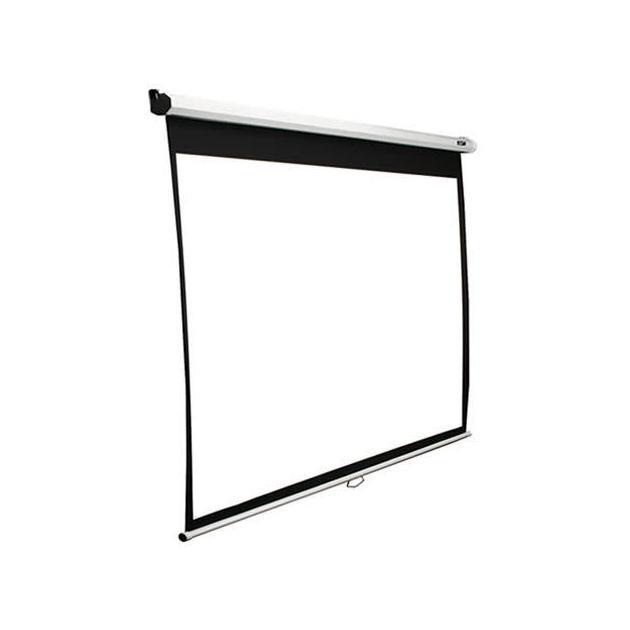 Экран Elite Screens 187x332см Manual M150XWH2 16:9 настенно-потолочный рулонный белый