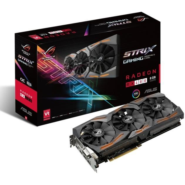 Asus AMD Radeon RX400 Series 8192Мб