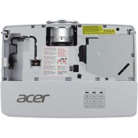 Acer P5627 портативный, Белый