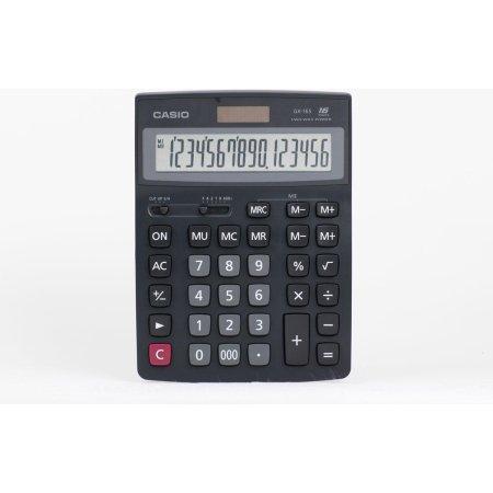 Casio GX-16S Черный, 11, Настольный
